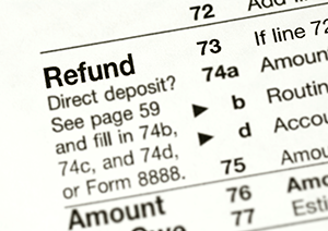 Tax Refund Deposit